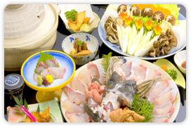 【幻の高級魚を食す旅】冬の贅沢♪本格◆くえ鍋フルコース◆プラン
