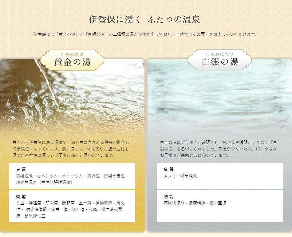 ふたつの温泉