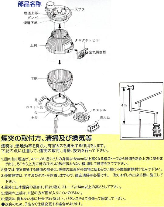 SHOEI(ショウエイ) 高級鋳物製 胴張ダルマストーブ 【7号】