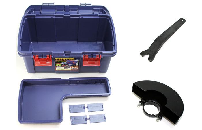 日立工機 ディスクグラインダ 125mm ホイルガード+工具ケース付 X349 【数量限定】