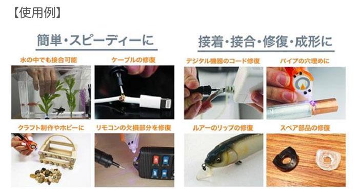 EIGER(アイガーツール) アイガー ファストキュア EF-05 紫外線硬化剤 接着剤
