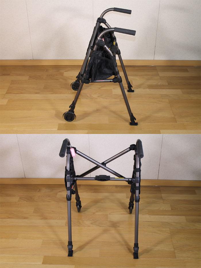 星光医療器製作所 【中古】歩行器 アルコースタンダー(メトロウォーカー)