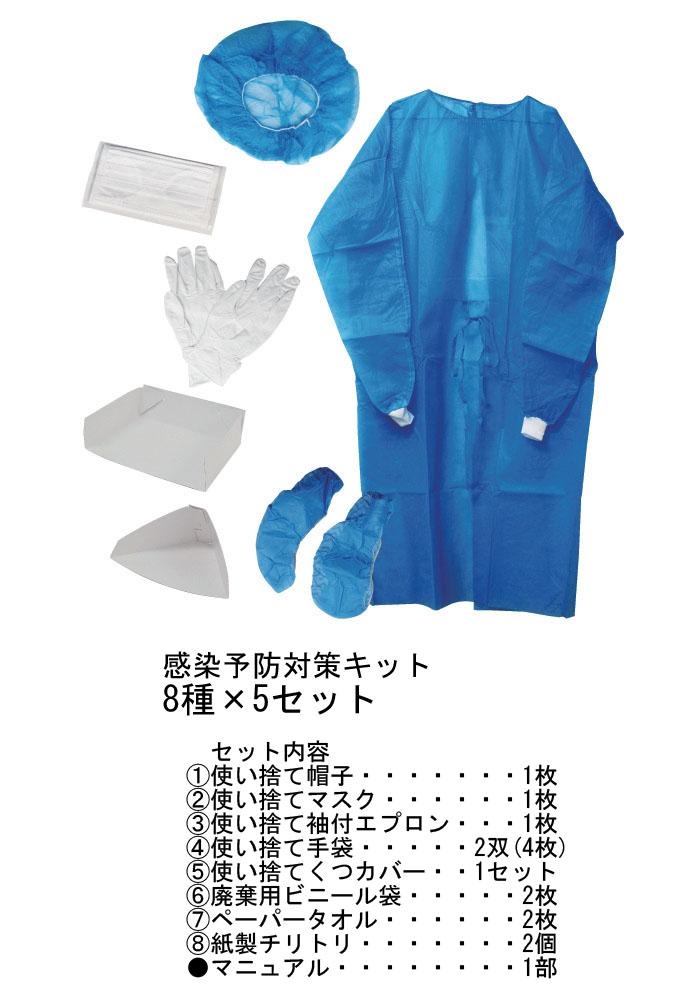 感染症予防対策キット TU-124