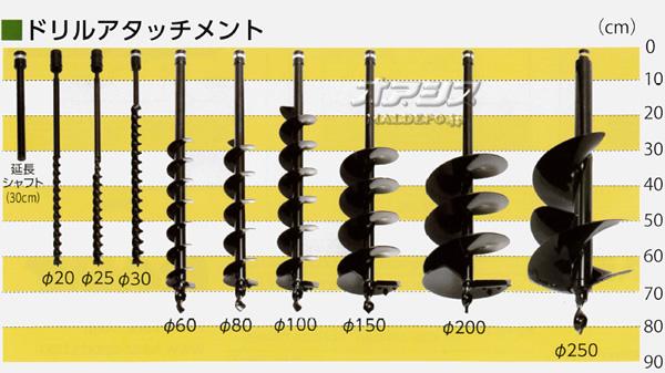 カーツ(KAAZ) オーガードリル φ25mm