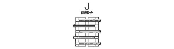 東日興産 コンバイン用 ゴムクローラー UR459047-J 450*90*47 パターンJ 芯金W【法人のみ】【営業所留め可】