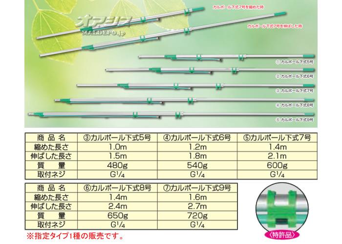 ヤマホ工業(YAMAHO) カルポール 下式 9号 G1/4【地域別運賃】