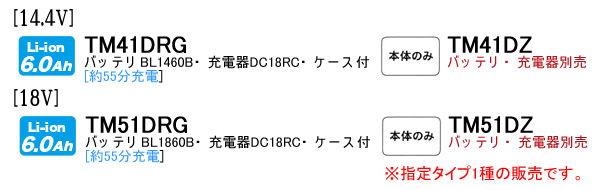 マキタ(makita) 14.4V充電式マルチツール TM41DRG 充電器・バッテリ・ケース付