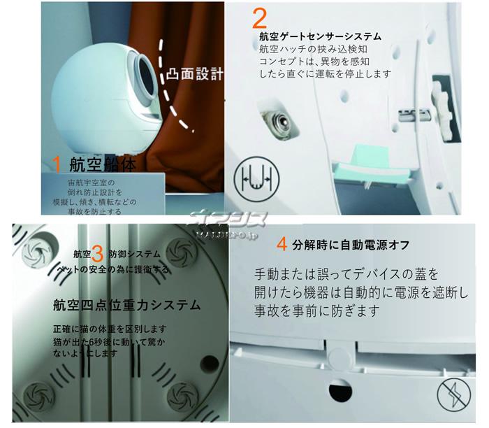 メタルテック 全自動スマートキャットトイレ【地域別運賃】
