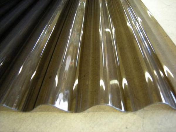 アイリスシンヨー 格安・軽量ポリカ波板 ブラウン 8尺 50枚組 【配送条件あり】