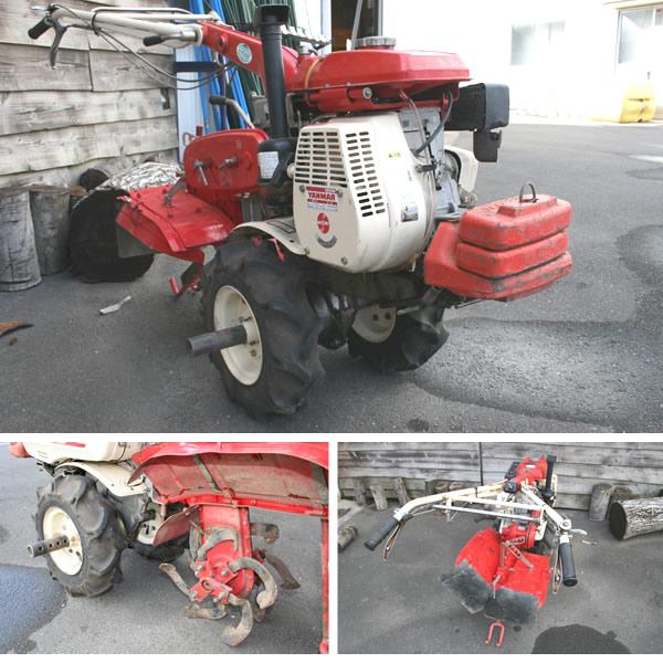 ヤンマー 【中古】歩行型管理機(リアローター耕運機) YK600 5.0ps